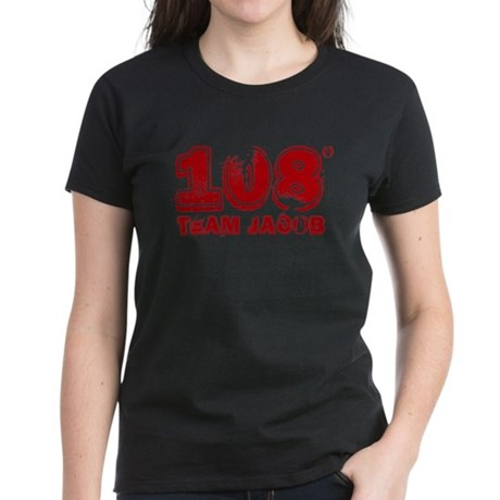 108 Degrees (red) Women's Dark T-Shirt