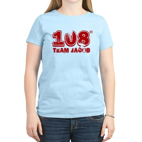 108 Degrees (red) Women's Light T-Shirt
