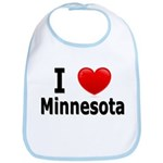 I Love Minnesota Bib