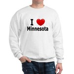 I Love Minnesota Sweatshirt
