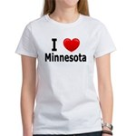 I Love Minnesota Women's T-Shirt