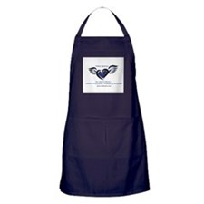 Autism Father Warrior Apron (dark)