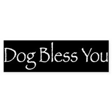 Dog Bless You Bumper Sticker (50 pk)
