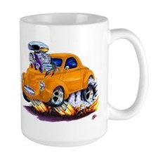 1941 Willys Orange Car Coffee Mug