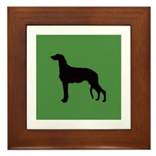 Scottish Deerhound Framed Tile