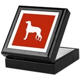 Scottish Deerhound Keepsake Box