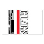 Car Grafiti Rectangle Sticker 10 pk)