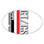 Car Grafiti Oval Sticker (50 pk)