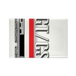 Car Grafiti Rectangle Magnet (10 pack)