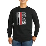 Car Grafiti Long Sleeve Dark T-Shirt