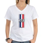 Cars 1919 Women's V-Neck T-Shirt