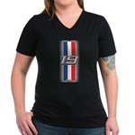 Cars 1919 Women's V-Neck Dark T-Shirt