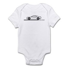 2008-10 Challenger Black Car Infant Bodysuit