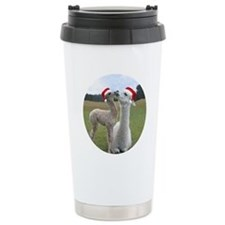 Alpaca Drink Container Ceramic Travel Mug