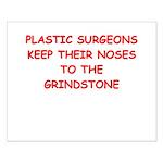 plastic surgeon joke Small Poster