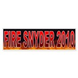 Fire Vic Snyder (sticker)
