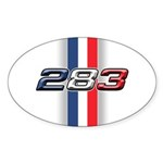 327RWB Oval Sticker (10 pk)