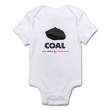 Coal - It's what's for Christ Infant Bodysuit