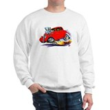 1933-36 Willys Red Car Sweatshirt