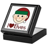 I Heart Elves Keepsake Box