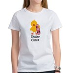 Skater Chick Women's T-Shirt