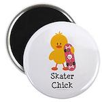 Skater Chick Magnet