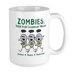 Zombies (Full Color) Large Mug