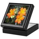 Floral Art Keepsake Box