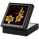 Yellow Daylilies Keepsake Box