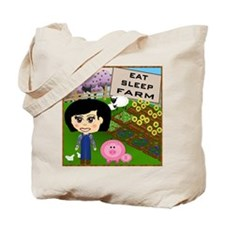 Eat, Sleep, Farm Tote Bag