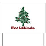 Mele Kalikimaka Yard Sign