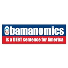 Obamanomics Bumper Sticker (10 pk)