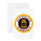 Germany Hockey(Deutschland) Greeting Cards (Pk of