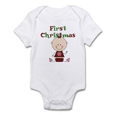 Baby Girl First Christmas Infant Bodysuit