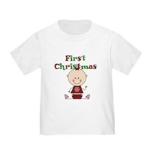 Baby Girl First Christmas T