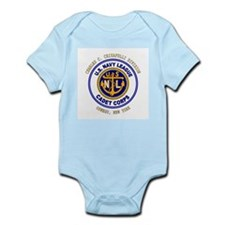 Navy League Color - CCC Divis Infant Creeper