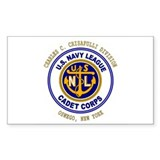 Navy League Color - CCC Divis Sticker (Rectangular