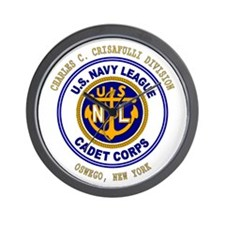 Navy League Color - CCC Divis Wall Clock