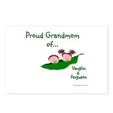 Proud Grandmom Postcards (Package of 8)
