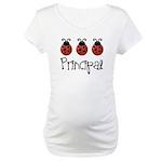 Ladybug Principal Maternity T-Shirt