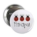 """Ladybug Principal 2.25"""" Button"""