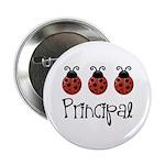 """Ladybug Principal 2.25"""" Button (10 pack)"""