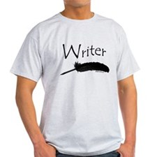 Writer with quill pen T-Shirt