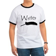 Writer with quill pen T