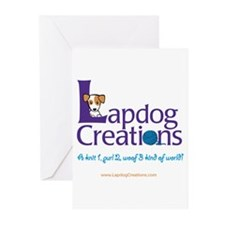 Lapdog Creations Greeting Cards (Pk of 10)