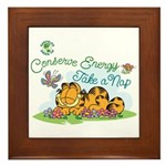 Conserve Energy Framed Tile