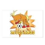 Mustangs Soccer Postcards (Package of 8)