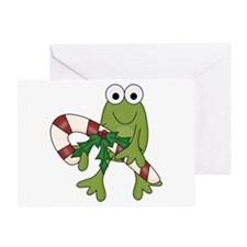 Froggy Christmas Greeting Card
