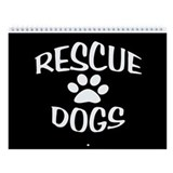 Rescue Dogs Calendar Wall Calendar
