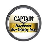Nordeast Beer Drinking Team Wall Clock